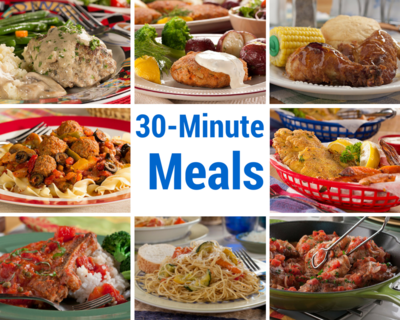 30 recipes for 30 minute meals mrfood 30 recipes for 30 minute meals forumfinder Choice Image