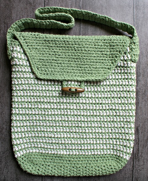 Work Satchel Crochet Bag Pattern Favecrafts