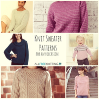 15 Knit Sweater Patterns for Any Occasion