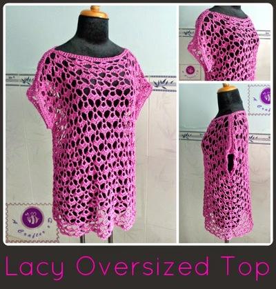 Lacy Crochet Top Pattern Favecrafts
