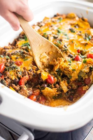 Lightened Up Taco Casserole