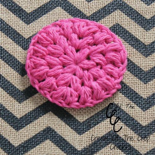 Pink Puff Crochet Face Scrubbie Favecrafts