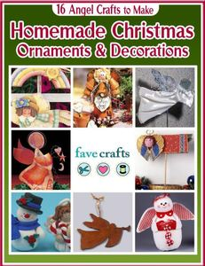 16 Angel Crafts to Make: Homemade Christmas Ornaments & Decorations free eBook