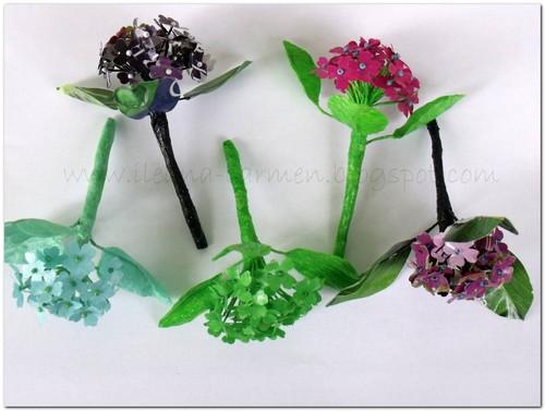 Pretty hydrangea diy paper flowers favecrafts pretty hydrangea diy paper flowers mightylinksfo