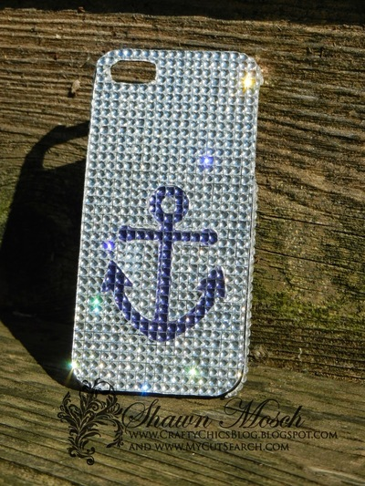Blinged Out DIY Cell Phone Case