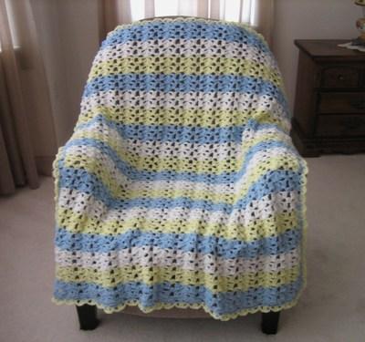 Sunny Skies Crochet Afghan Allfreecrochetafghanpatterns