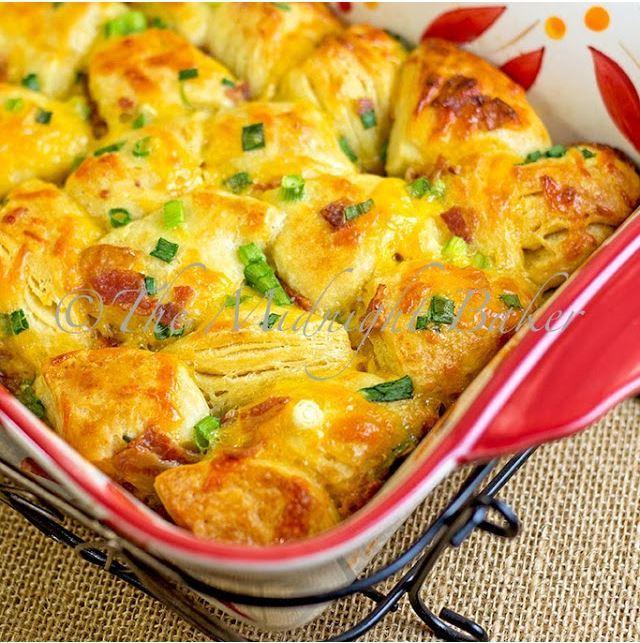 Breakfast Pull Apart Bread Recipe