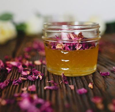 Remarkable Rose Petal Infused Honey