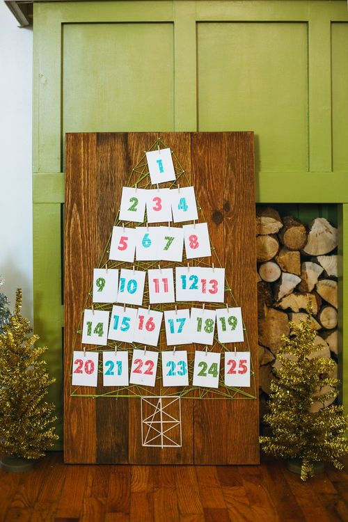 String Art Advent Calendar