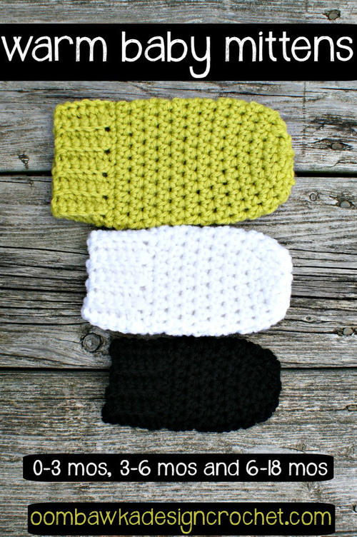 Warm And Cozy Crochet Baby Mittens Allfreecrochet