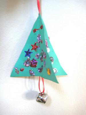 3D Paper Kids Christmas Ornaments | AllFreeChristmasCrafts.com