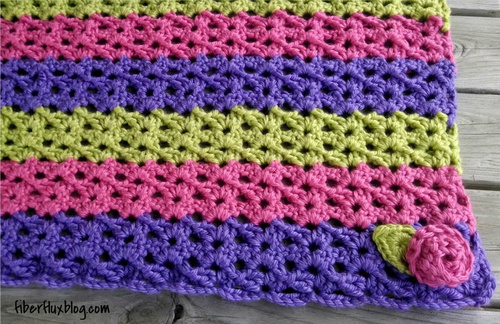 Crochet Baby Blanket and Play Mat