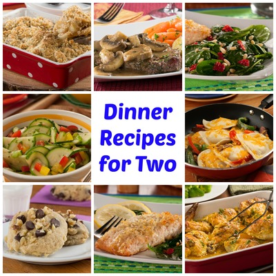 If you think cooking for two requires halving a larger recipe then youu0027re in for a treat with these great dinner ideas for two! These easy recipes for two ...  sc 1 st  Mr. Food & 64 Easy Dinner Recipes for Two | MrFood.com