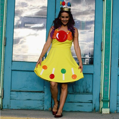 DIY Vintage Princess Lolly Halloween Costume