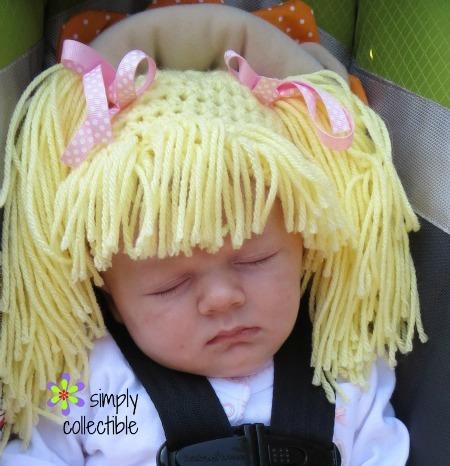 Crochet Baby Wig Hat Allfreecrochet