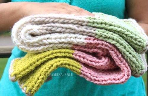 10 Day Quick Knit Baby Blanket Allfreeknitting