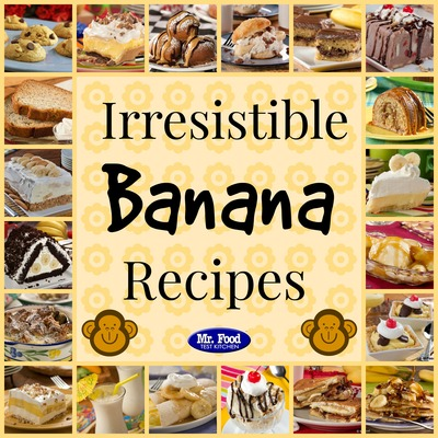 Irresistible banana recipes 36 recipes with bananas mrfood weve got a recipe collection that youll go simply bananas over our latest recipe collection irresistible banana recipes 36 recipes with bananas forumfinder Choice Image
