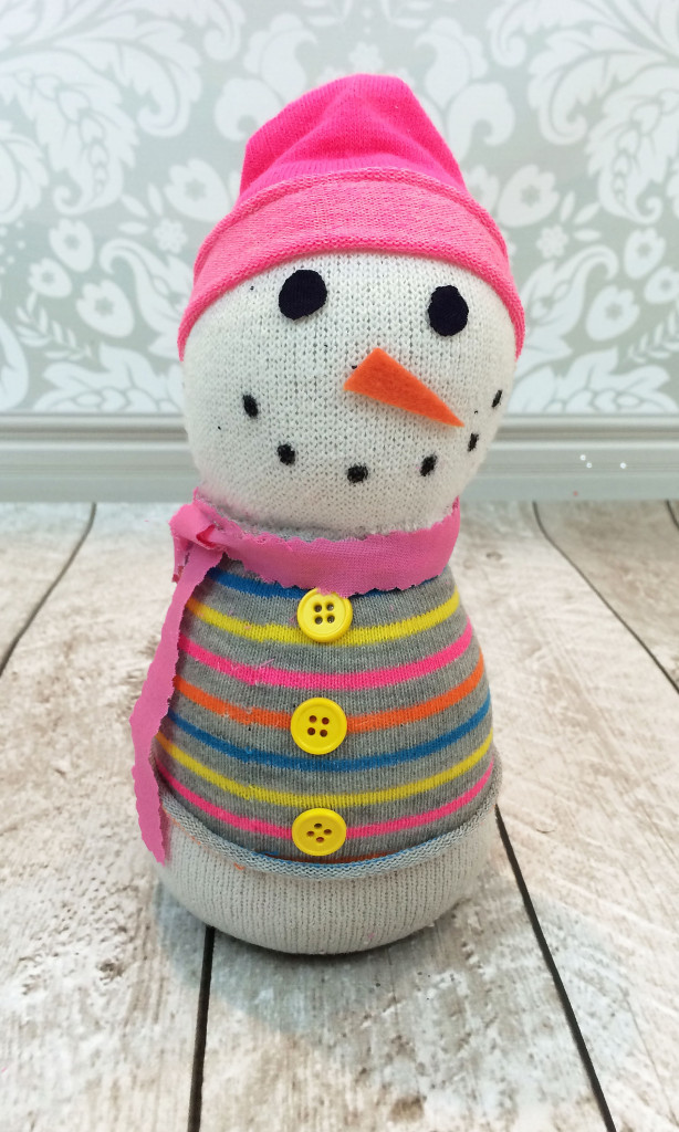 Super Simple Sock Snowman Allfreesewing Com