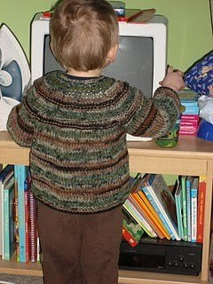 Quick Knit Toddler Sweater