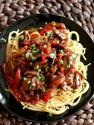 Saucy Mongolian Beef Recipe