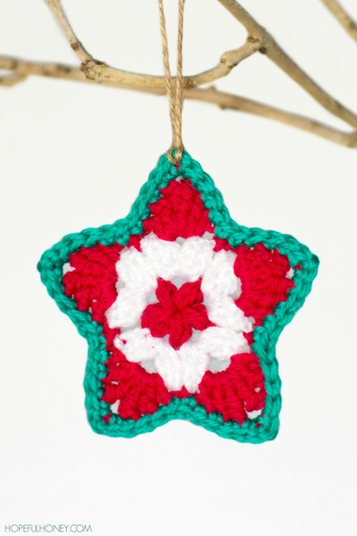 Star Christmas Ornament Crochet Pattern Favecrafts