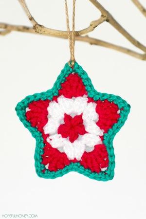 Star Christmas Ornament Crochet Pattern Favecrafts