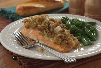 Not Stuffed Stuffed Salmon