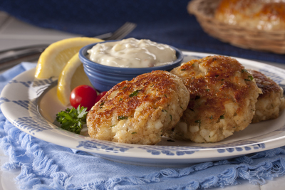 All-American Fish Cakes