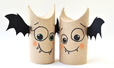 Toilet Paper Roll Bat Buddies