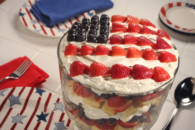American Berry Trifle