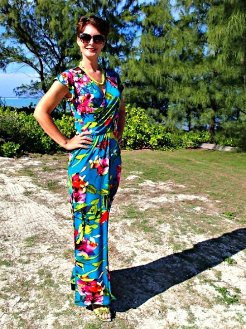 Tropical Christmas Tree Skirt