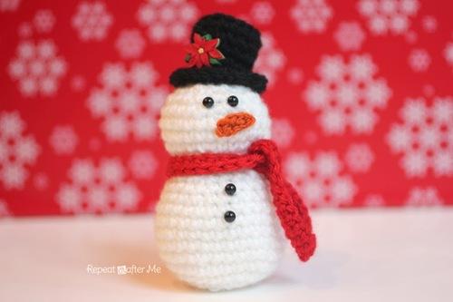 Amigurumi Crochet Snowman Allfreecrochet