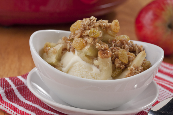 Apple Crunch Cobbler