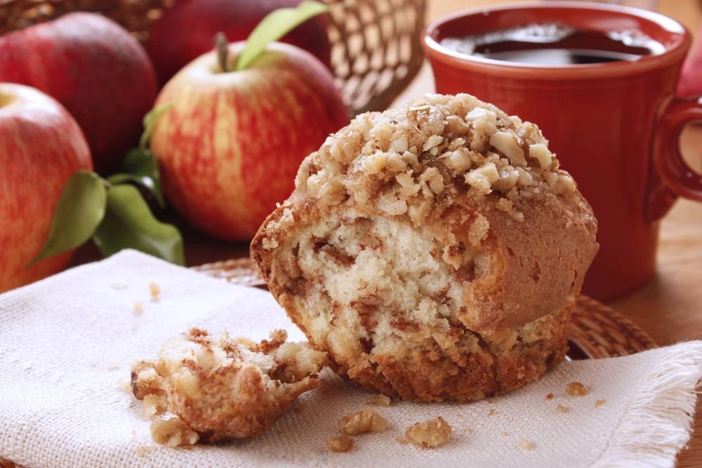 Apple Nut Muffins Mrfood Com