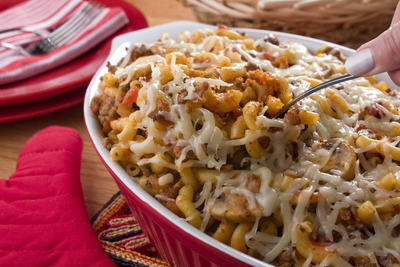 Favorite ground beef casserole recipes mrfood an update on an old fashioned hungarian specialty this easy ground beef recipe is sure to become one of your signature dishes find the recipe here forumfinder Choice Image