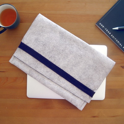 Felt & Fleece Laptop Sleeve