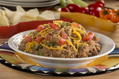 EDR South of the Border Bean Dip