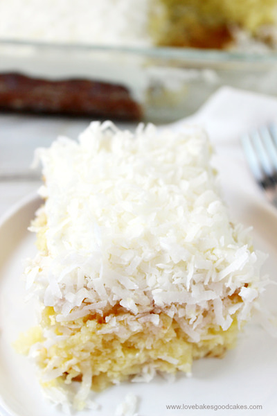 Better-Than-Sex Coconut Cream Pie Poke Cake