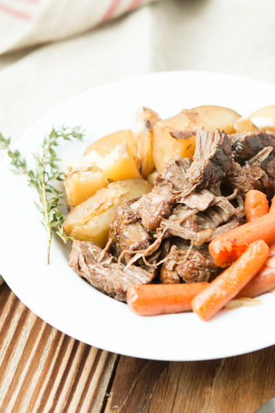 Fall Apart Slow Cooker Roast