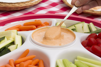 Mediterranean Roasted Pepper Dip