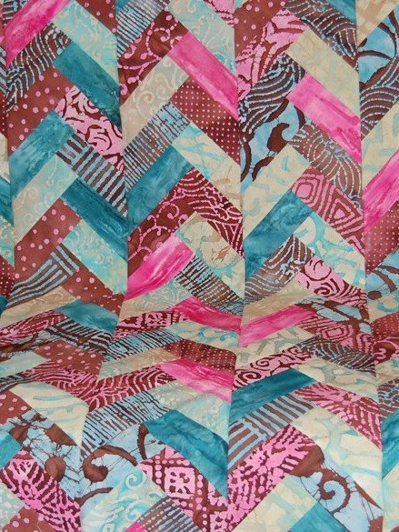 Jelly Roll Braid Quilt | FaveQuilts.com : braid quilt pattern - Adamdwight.com