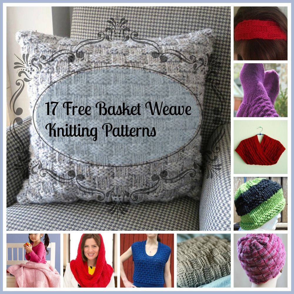 17 Free Basket Weave Knitting Patterns | AllFreeKnitting.com