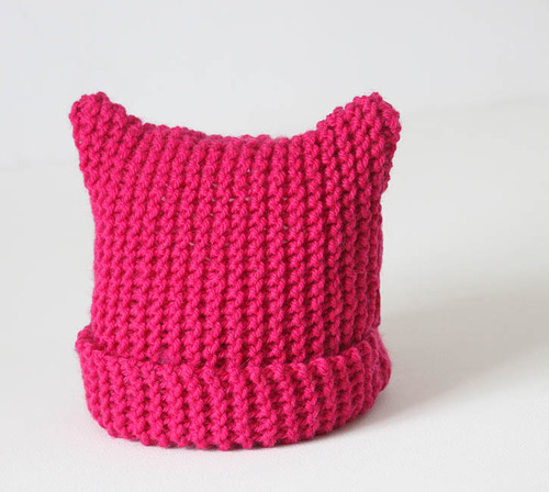 Kitty Ear Toddler Hat Allfreeknitting