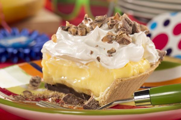 Cream pie surprize