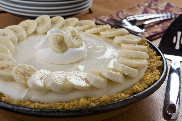 Banana Crunch Pie