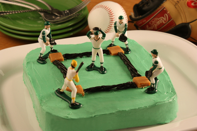 Baseball Brownies