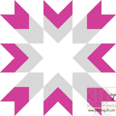 Modern Christmas Star Quilt Block   FaveQuilts.com : christmas star quilt block - Adamdwight.com