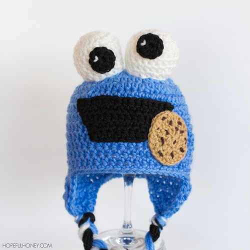 Cookie Monster Baby Hat Allfreecrochet
