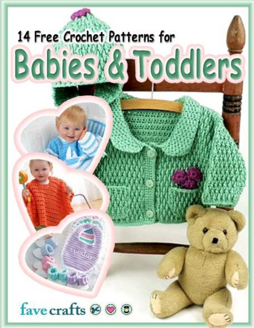 40 Free Crochet Patterns For Babies Toddlers FaveCrafts Cool Free Crochet Patterns For Babies