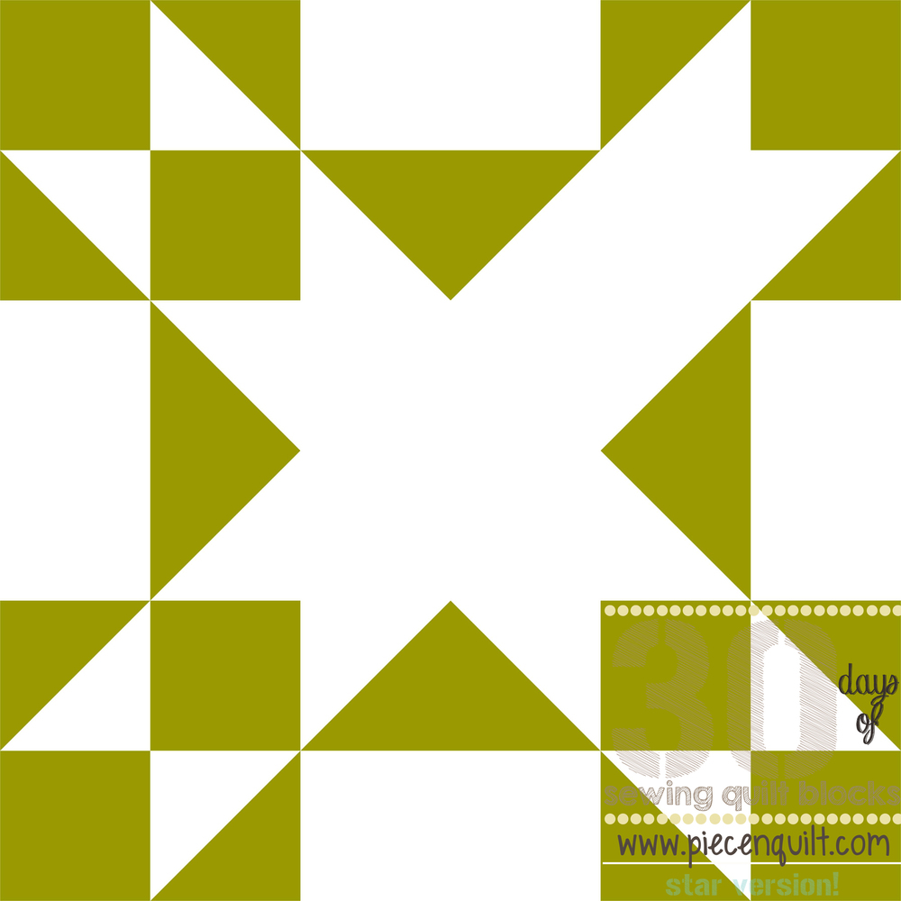 Amish Star Quilt Block Pattern Favequilts Com